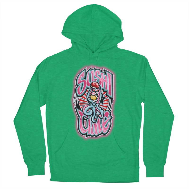 Sushi Time Women's Pullover Hoody by FunkyTurtle Artist Shop
