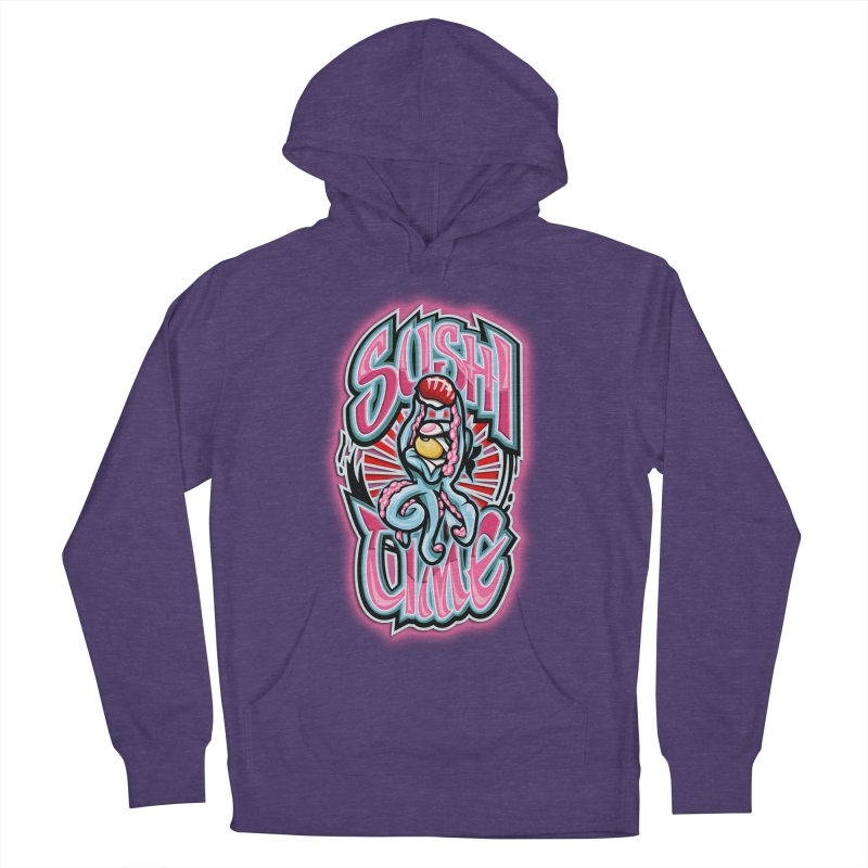 Sushi Time Men's Pullover Hoody by FunkyTurtle Artist Shop