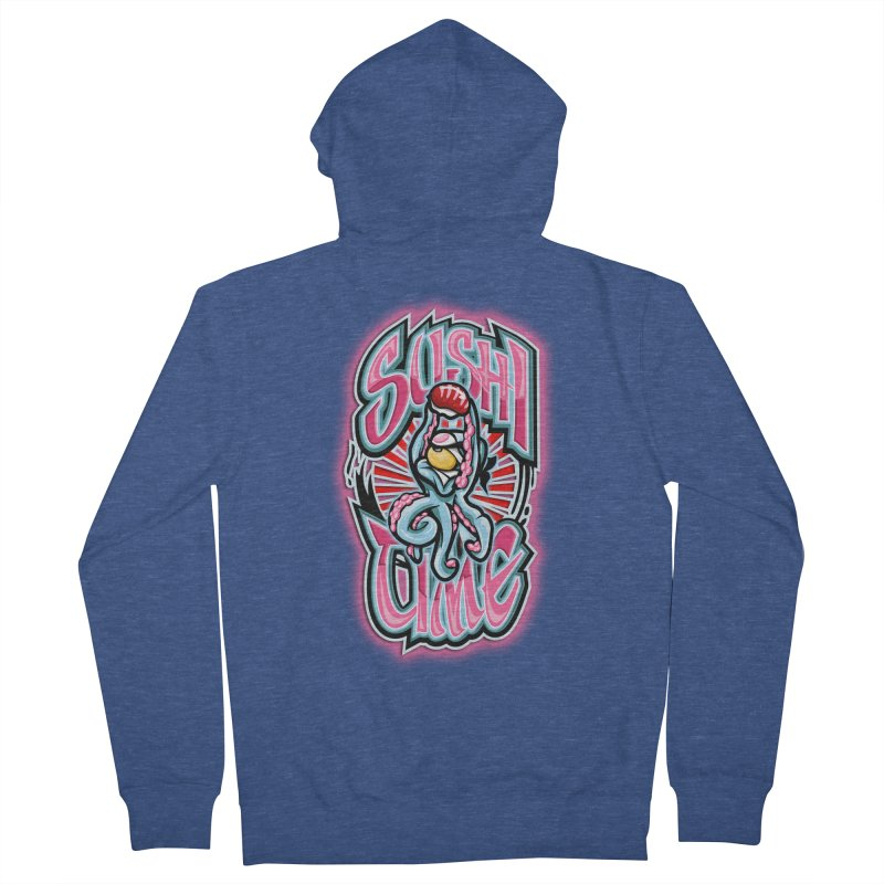 Sushi Time Women's Zip-Up Hoody by FunkyTurtle Artist Shop
