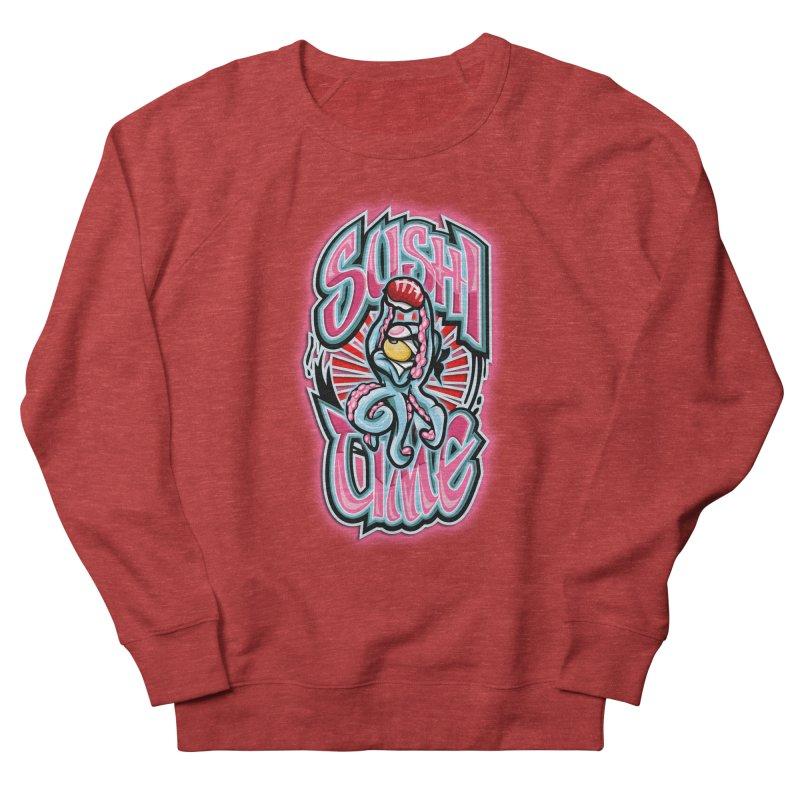 Sushi Time Men's Sweatshirt by FunkyTurtle Artist Shop