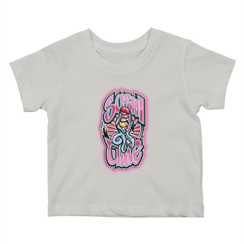 Sushi Time Kids Baby T-Shirt by FunkyTurtle Artist Shop