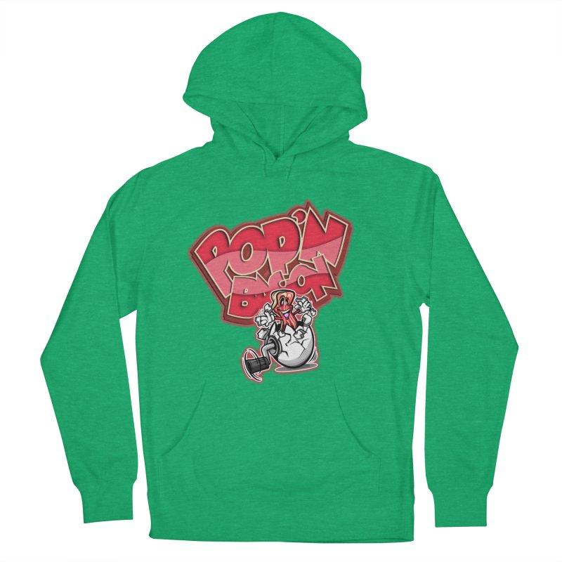 Pop'n Bacon Women's Pullover Hoody by FunkyTurtle Artist Shop