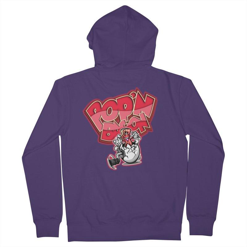 Pop'n Bacon Women's Zip-Up Hoody by FunkyTurtle Artist Shop