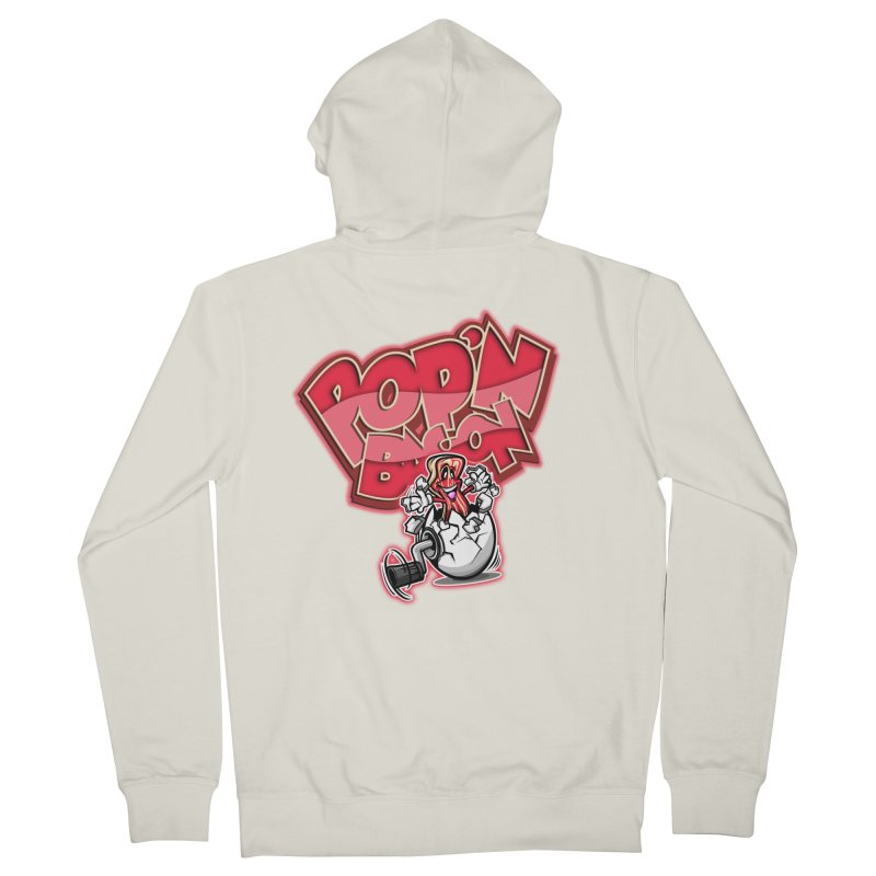 Pop'n Bacon Women's Zip-Up Hoody by FunkyTurtle Artist Shop