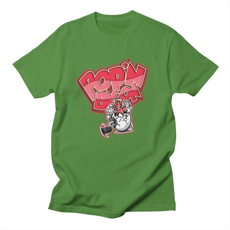 Pop'n Bacon Men's T-Shirt by FunkyTurtle Artist Shop