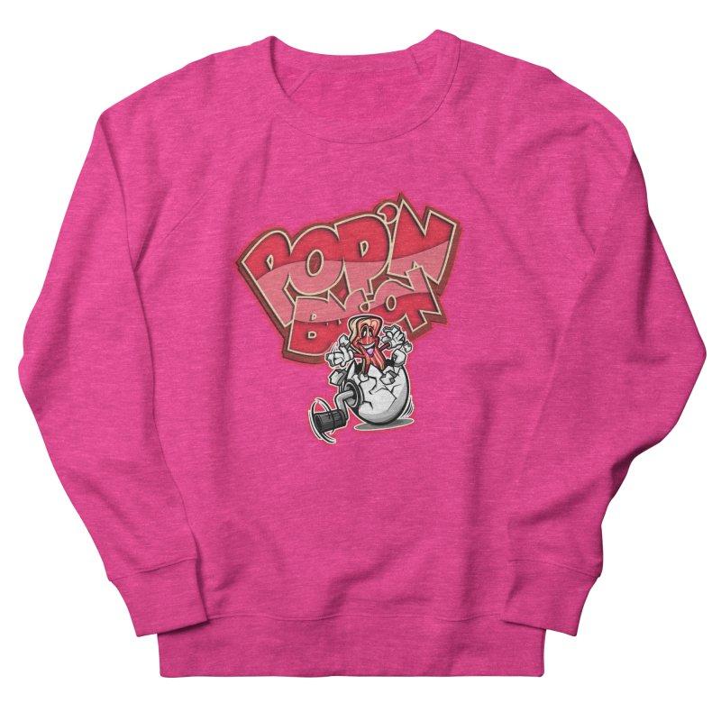 Pop'n Bacon Women's Sweatshirt by FunkyTurtle Artist Shop
