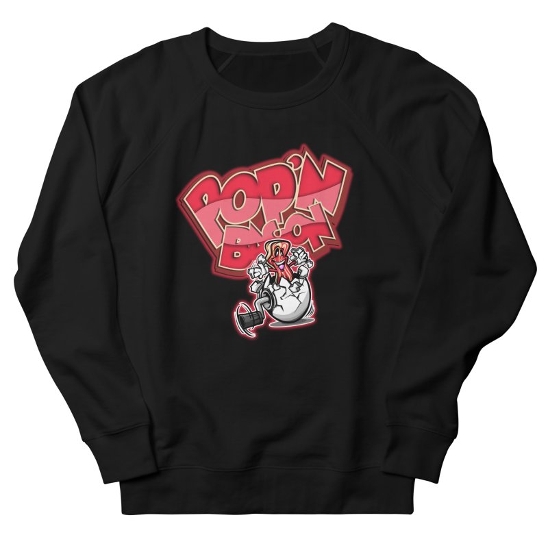Pop'n Bacon Women's Sweatshirt by FunkyTurtle Artist Shop