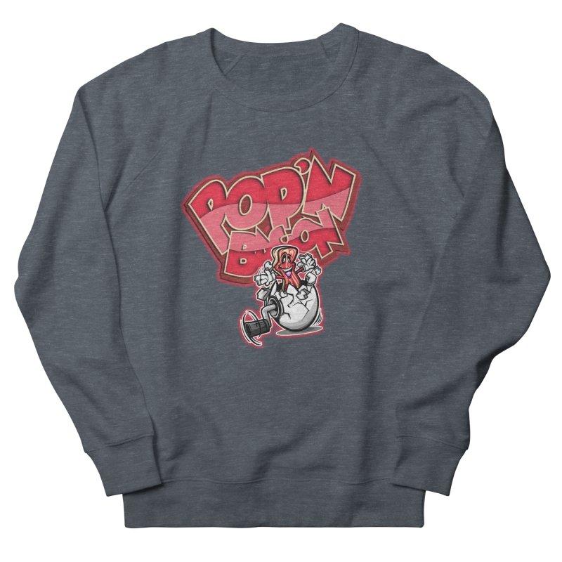 Pop'n Bacon Men's Sweatshirt by FunkyTurtle Artist Shop