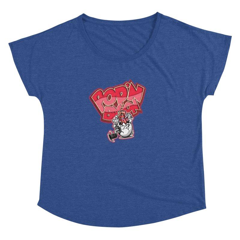 Pop'n Bacon Women's Dolman by FunkyTurtle Artist Shop