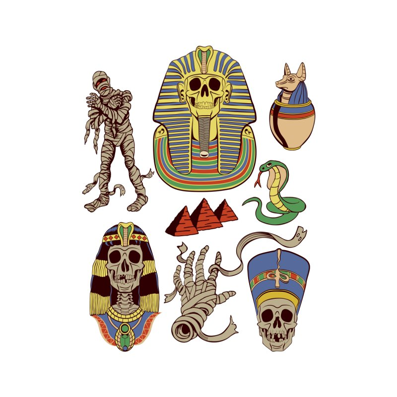Mummy Death Pattern   by funnyfuse's Artist Shop