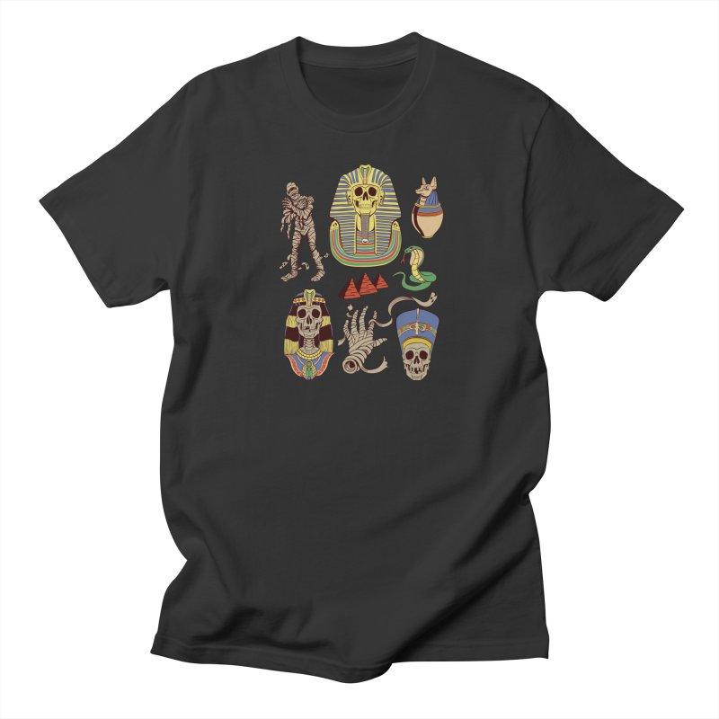 Mummy Death Pattern Men's T-Shirt by funnyfuse's Artist Shop