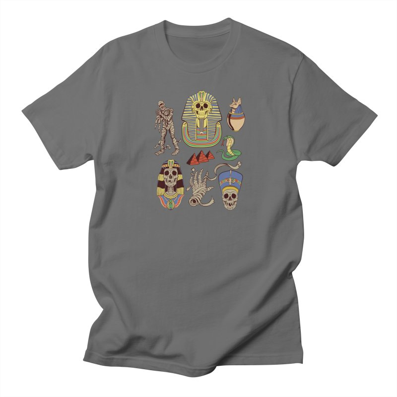 Mummy Death Pattern Men's T-Shirt by funnyfuse's Artist Shop