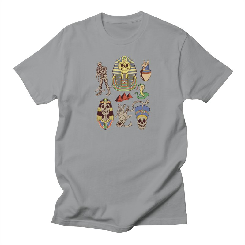 Mummy Death Pattern Men's Regular T-Shirt by funnyfuse's Artist Shop