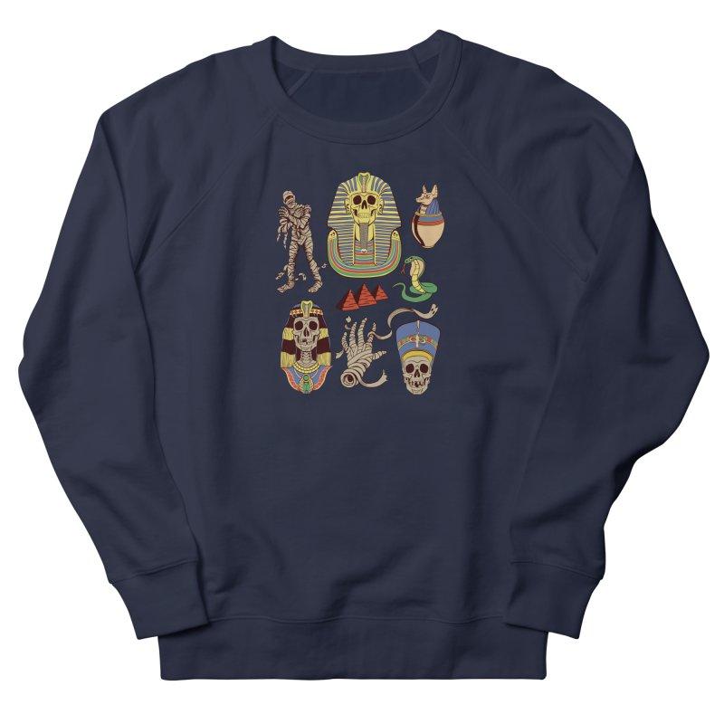 Mummy Death Pattern Men's Sweatshirt by funnyfuse's Artist Shop