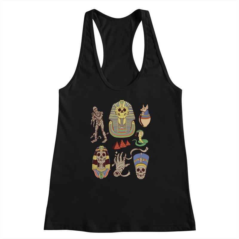 Mummy Death Pattern Women's Tank by funnyfuse's Artist Shop