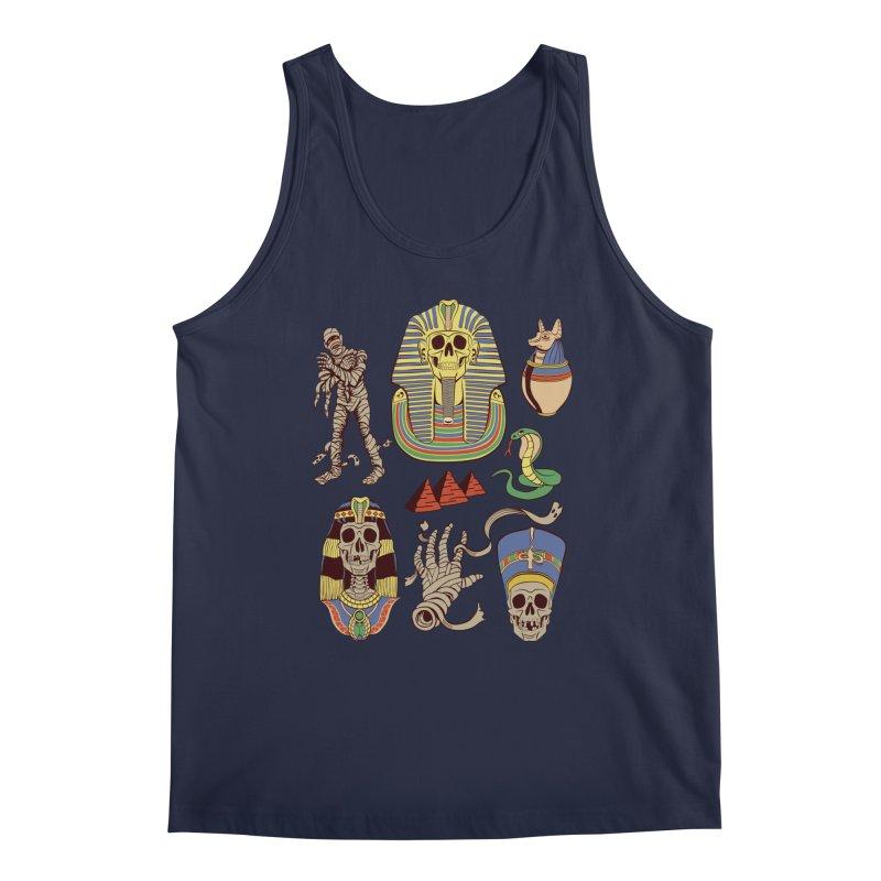 Mummy Death Pattern Men's Regular Tank by funnyfuse's Artist Shop