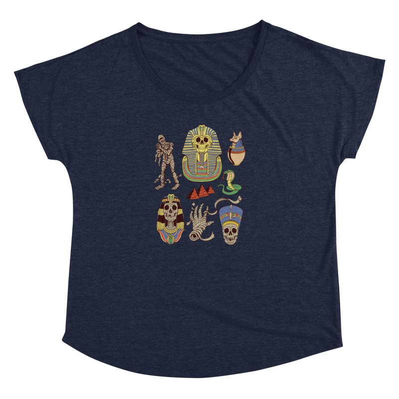 Mummy Death Pattern Women's Dolman by funnyfuse's Artist Shop