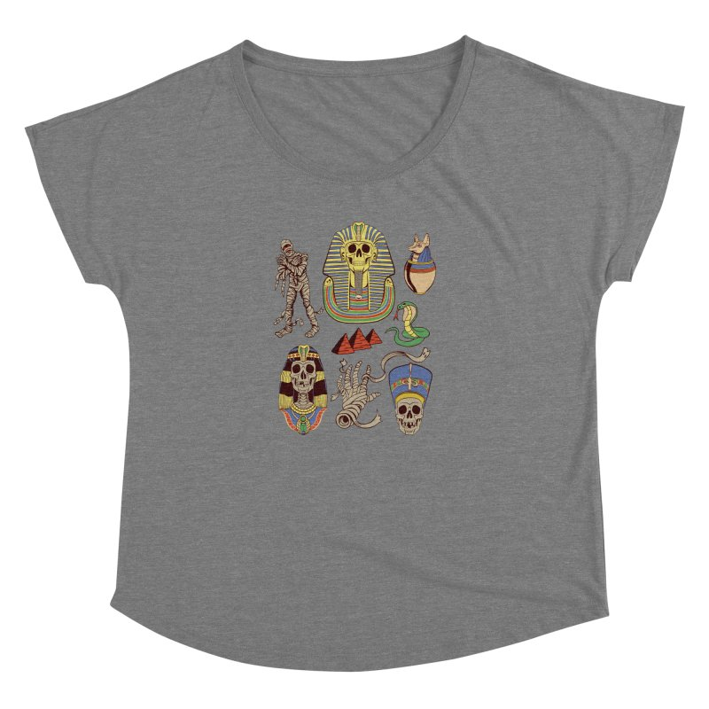 Mummy Death Pattern Women's Dolman by funnyfuse's Artist Shop