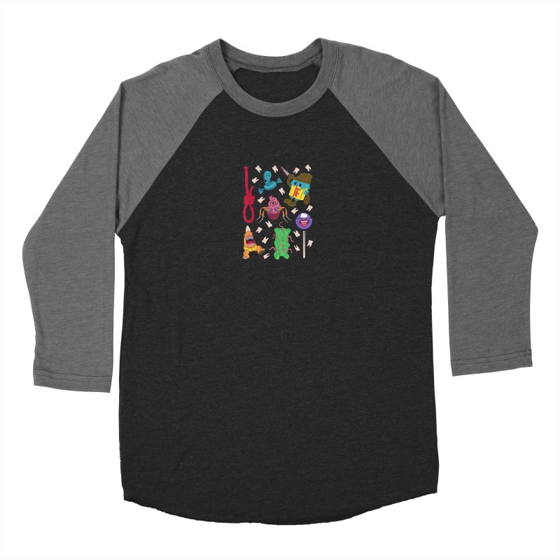 Killer Candy Women's Baseball Triblend Longsleeve T-Shirt by funnyfuse's Artist Shop