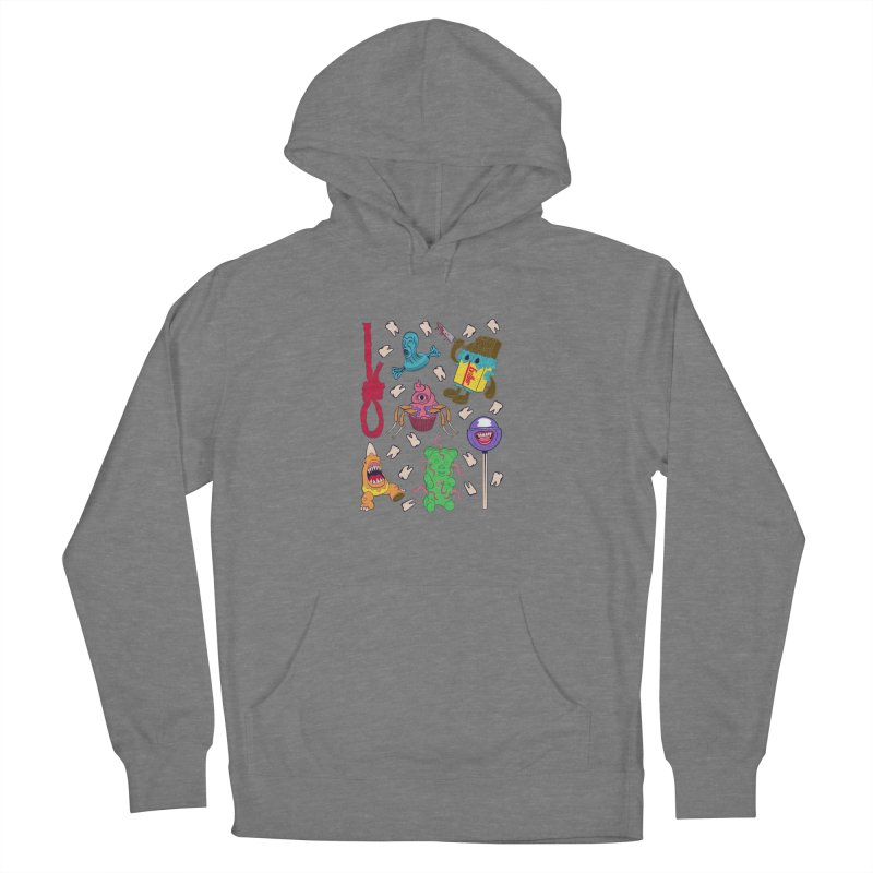 Killer Candy Women's French Terry Pullover Hoody by funnyfuse's Artist Shop