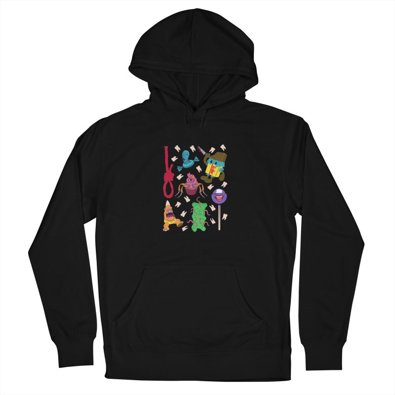 Killer Candy Men's French Terry Pullover Hoody by funnyfuse's Artist Shop