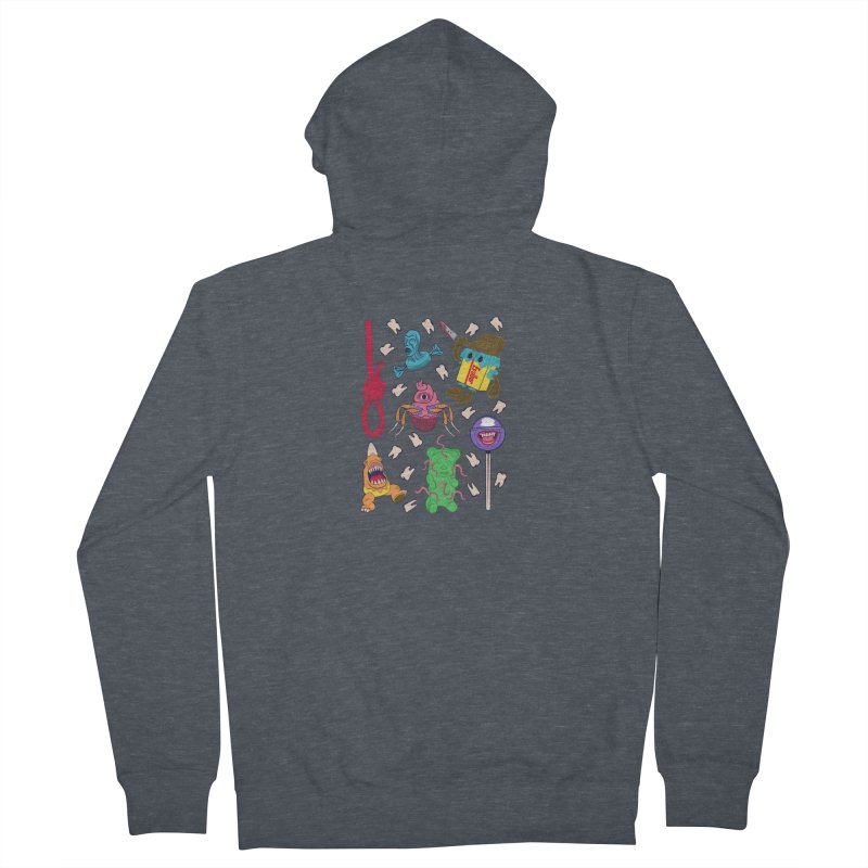 Killer Candy Men's Zip-Up Hoody by funnyfuse's Artist Shop