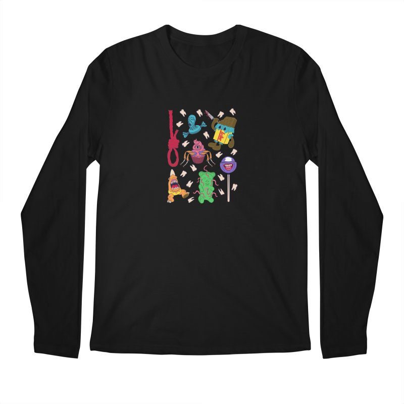 Killer Candy Men's Longsleeve T-Shirt by funnyfuse's Artist Shop