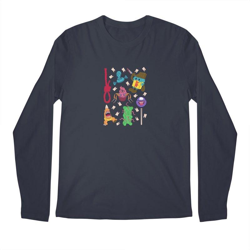 Killer Candy Men's Regular Longsleeve T-Shirt by funnyfuse's Artist Shop