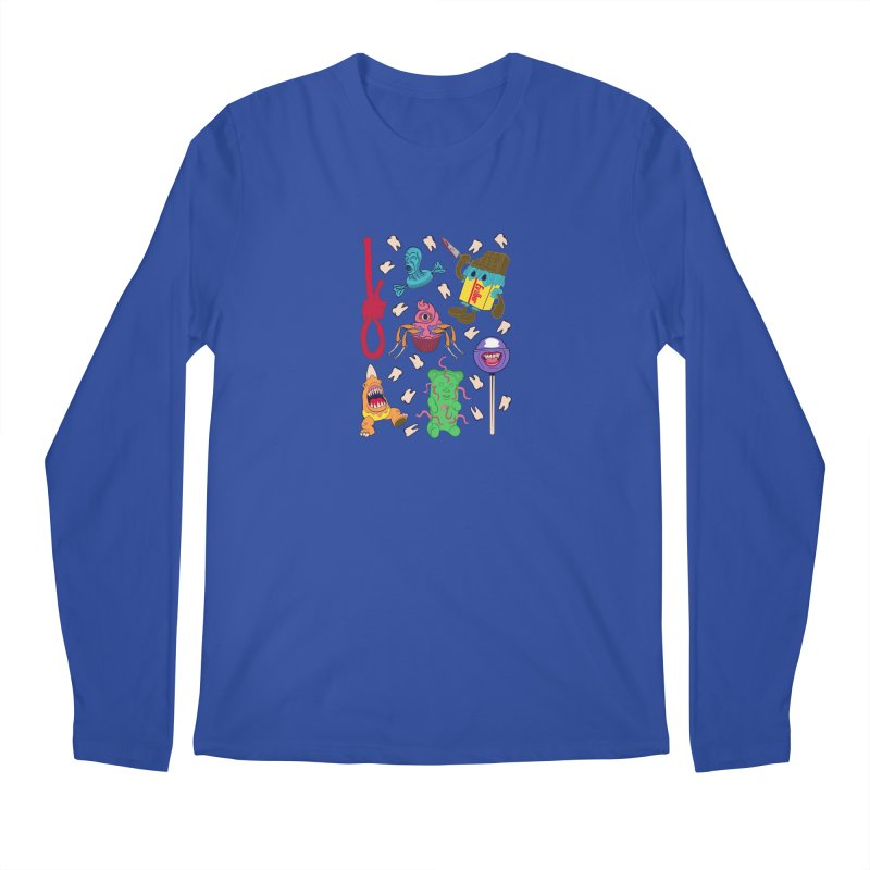 Killer Candy Men's Regular Longsleeve T-Shirt by funnyfuse's Artist Shop