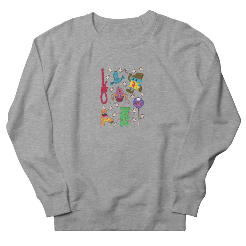 Killer Candy Women's French Terry Sweatshirt by funnyfuse's Artist Shop