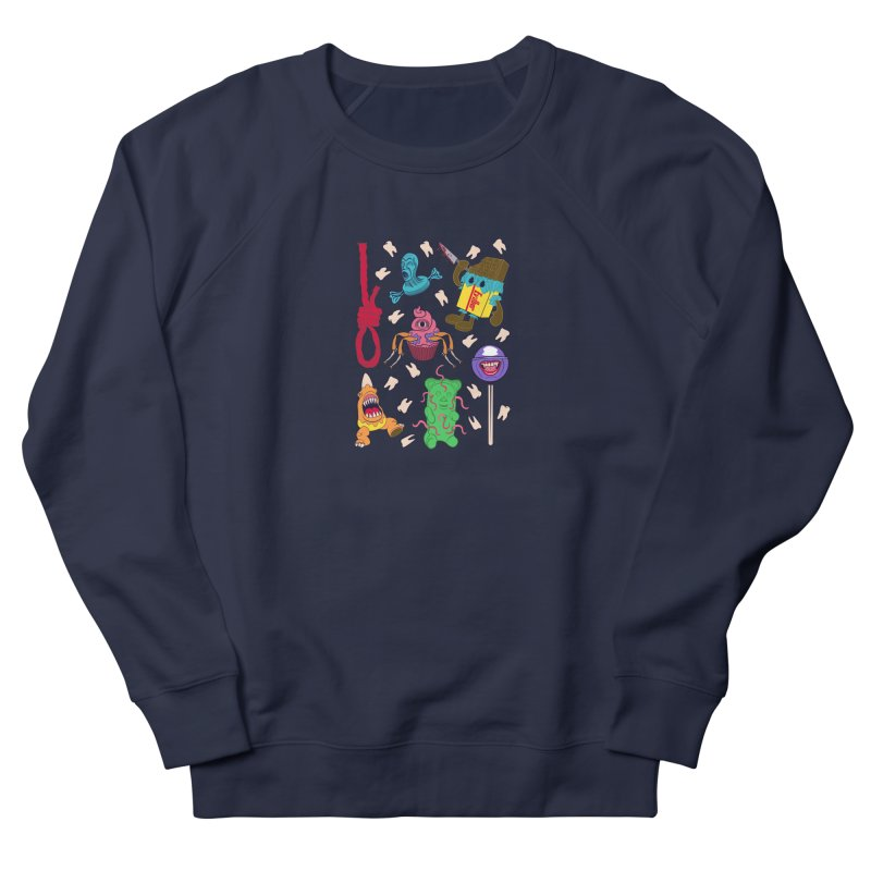 Killer Candy Men's French Terry Sweatshirt by funnyfuse's Artist Shop