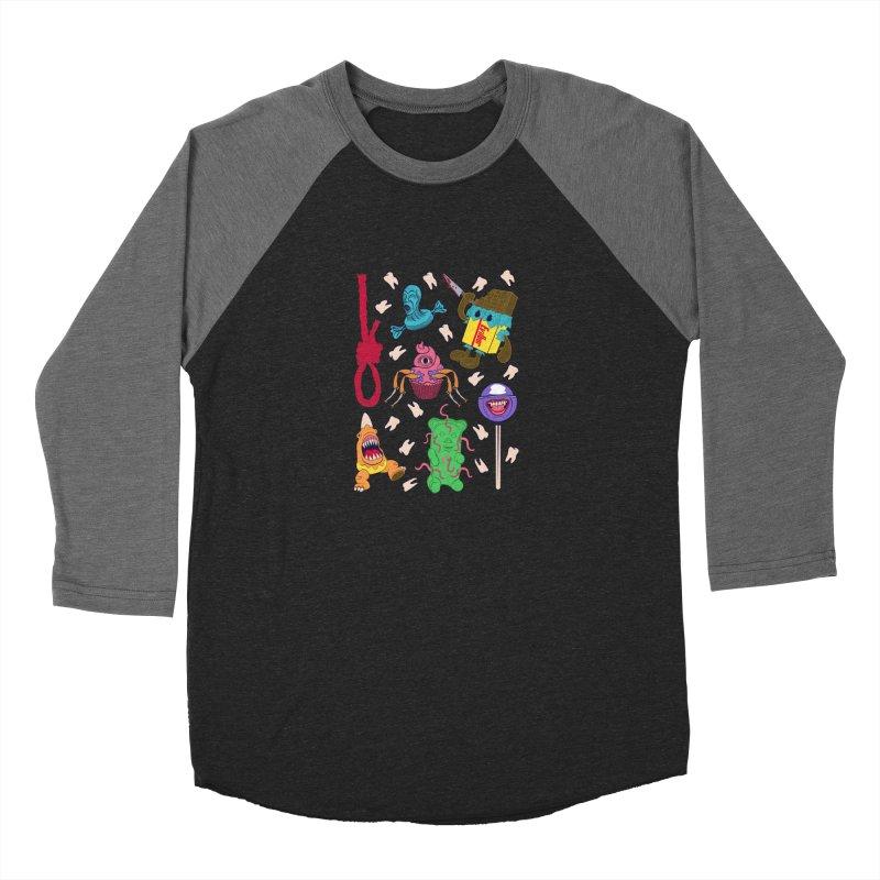 Killer Candy Women's Baseball Triblend T-Shirt by funnyfuse's Artist Shop