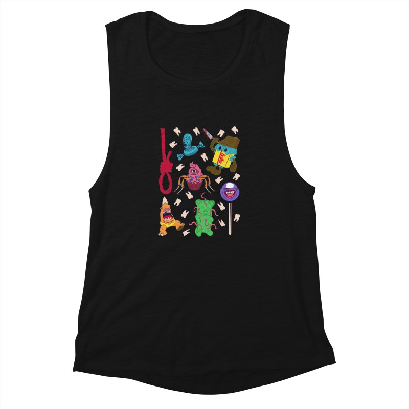Killer Candy Women's Tank by funnyfuse's Artist Shop