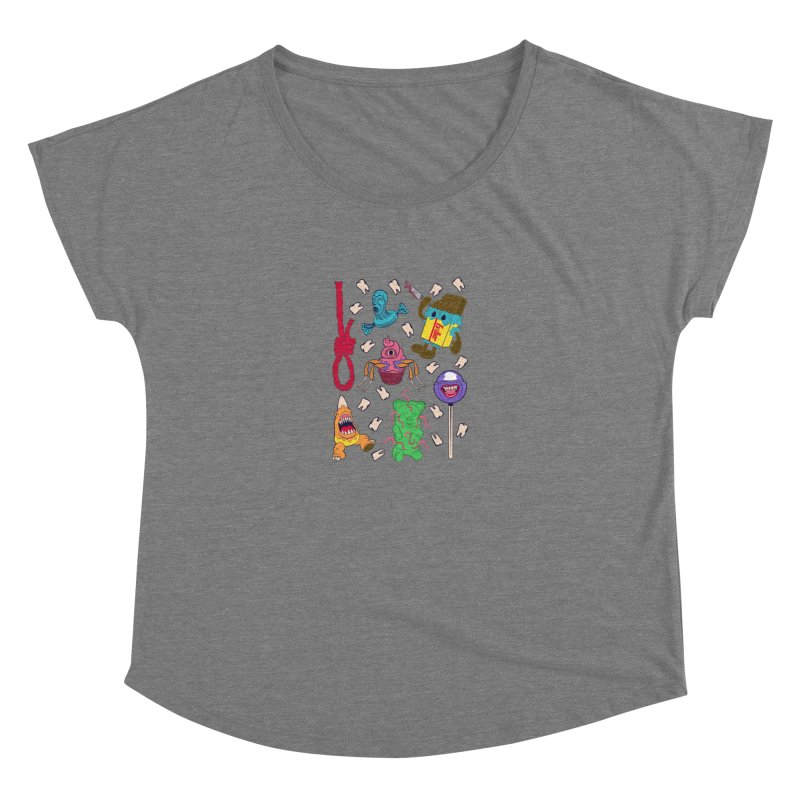 Killer Candy Women's Scoop Neck by funnyfuse's Artist Shop