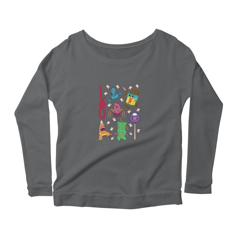 Killer Candy Women's Scoop Neck Longsleeve T-Shirt by funnyfuse's Artist Shop