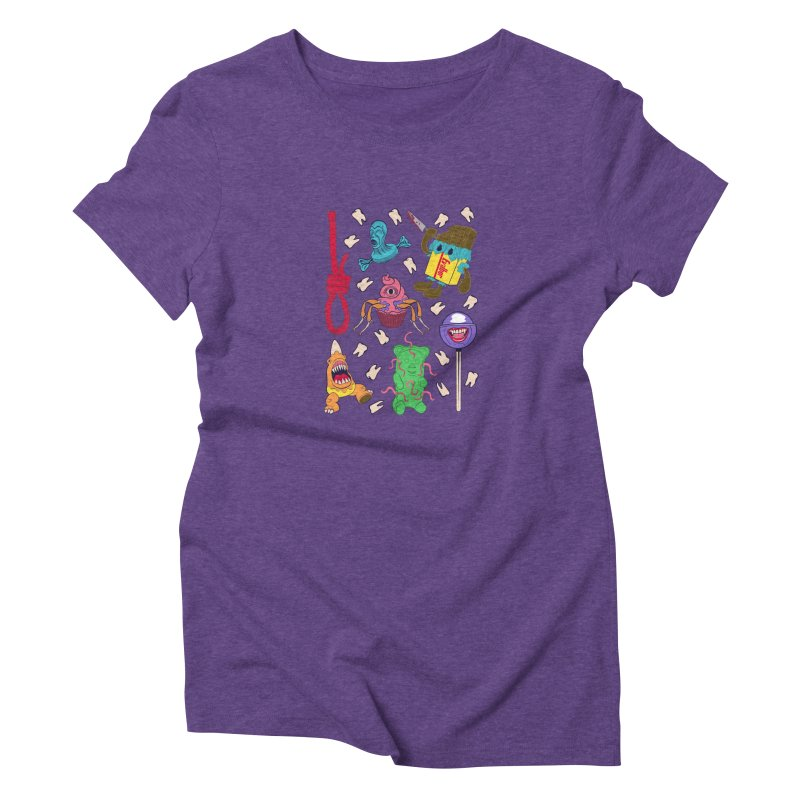 Killer Candy Women's Triblend T-Shirt by funnyfuse's Artist Shop