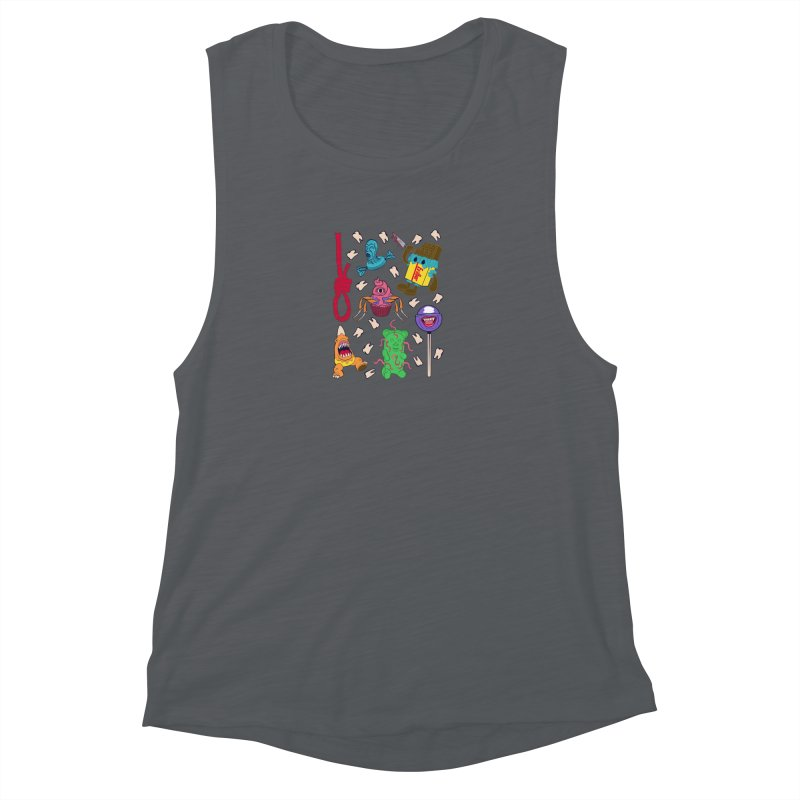 Killer Candy Women's Muscle Tank by funnyfuse's Artist Shop