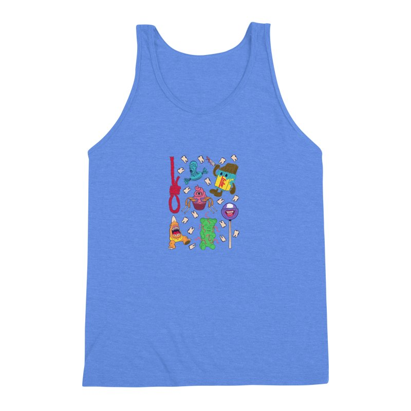 Killer Candy Men's Triblend Tank by funnyfuse's Artist Shop