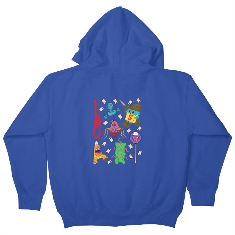 Killer Candy Kids Zip-Up Hoody by funnyfuse's Artist Shop