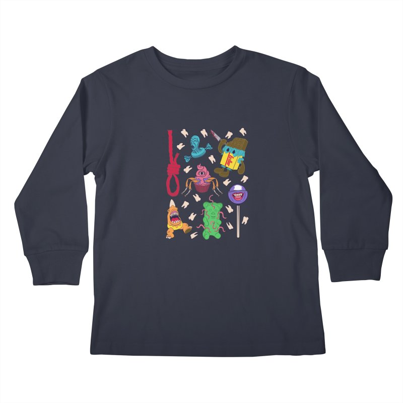 Killer Candy Kids Longsleeve T-Shirt by funnyfuse's Artist Shop