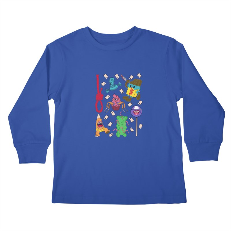 Killer Candy Kids Longsleeve T-Shirt by funnyfuse's Artist Shop
