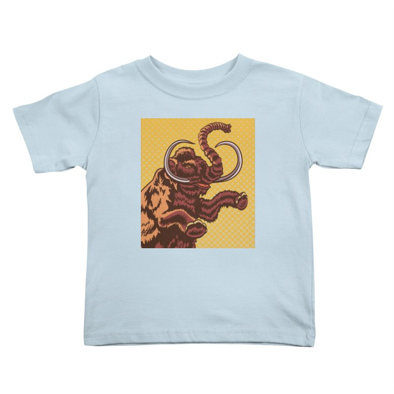 Mammoth Kids Toddler T-Shirt by funnyfuse's Artist Shop