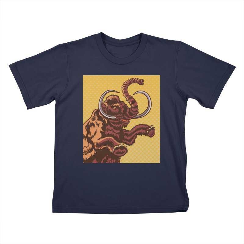 Mammoth Kids T-Shirt by funnyfuse's Artist Shop