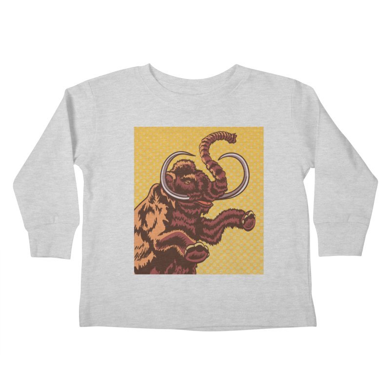Mammoth Kids Toddler Longsleeve T-Shirt by funnyfuse's Artist Shop
