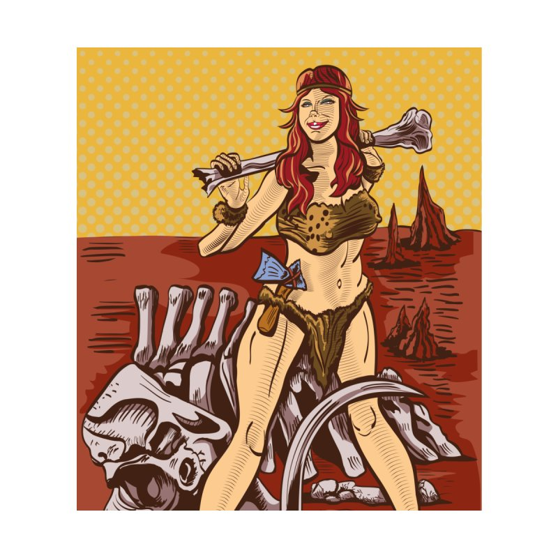 Cave Girl Pinup None  by funnyfuse's Artist Shop