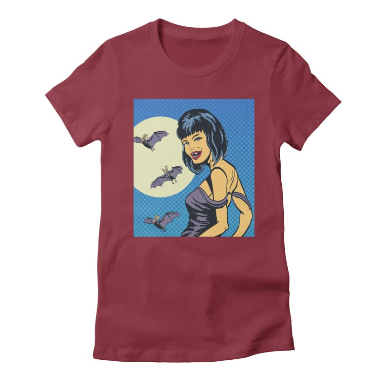 Vampire Women's T-Shirt by funnyfuse's Artist Shop