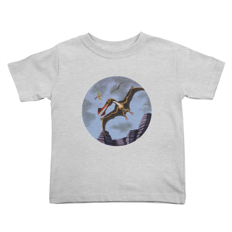 Terror in the Skies Kids Toddler T-Shirt by funnyfuse's Artist Shop