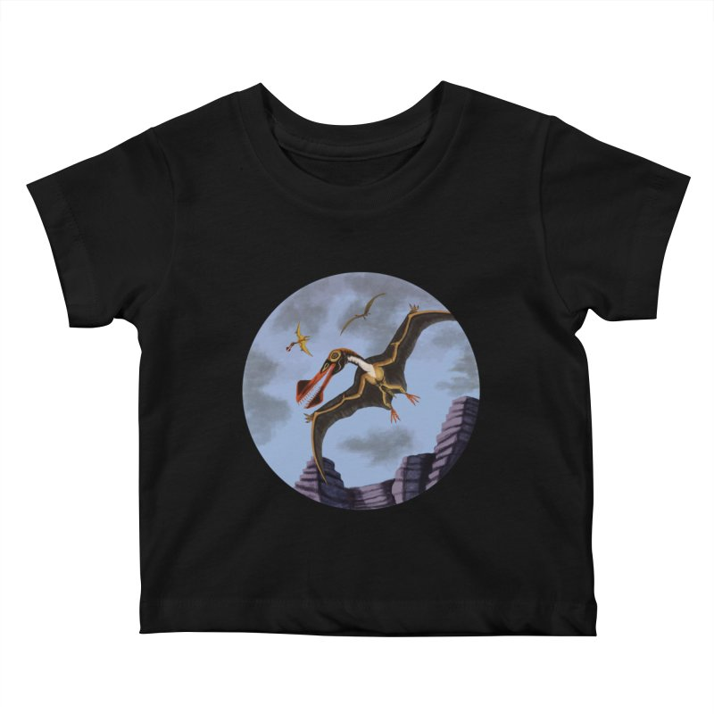 Terror in the Skies Kids Baby T-Shirt by funnyfuse's Artist Shop