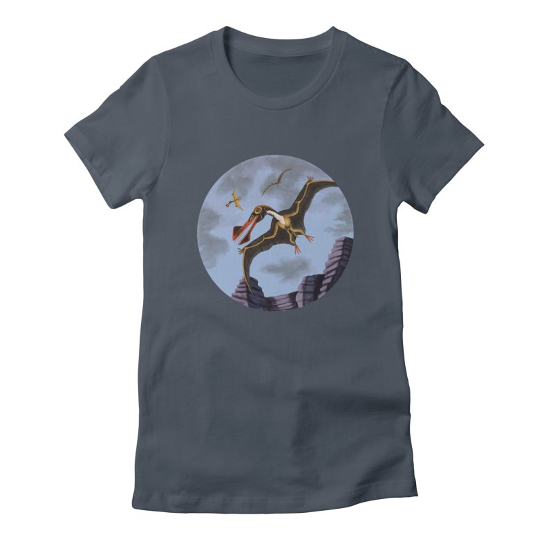 Terror in the Skies Women's T-Shirt by funnyfuse's Artist Shop