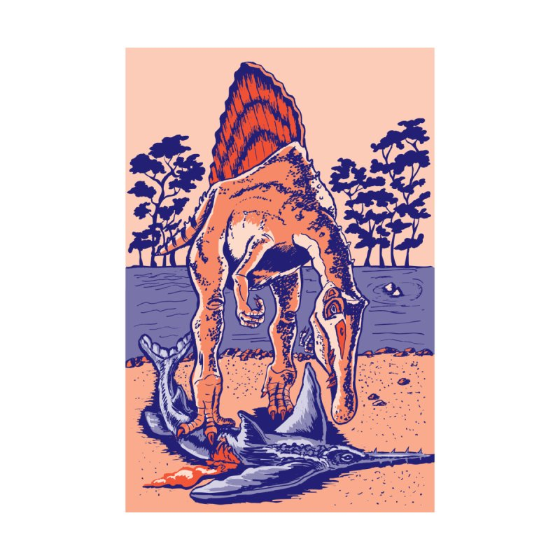 Spinosaurus the Hunter Men's T-Shirt by funnyfuse's Artist Shop